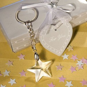 Crystal Star Keychain Favors image