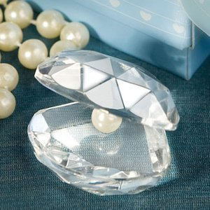 Crystal Clamshell Favors image