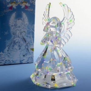 Light Up Angel Centerpiece Cake Top image