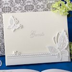Fluttering Butterflies Themed Guest Book