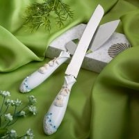 Shimmering Starfish Cake Server Set
