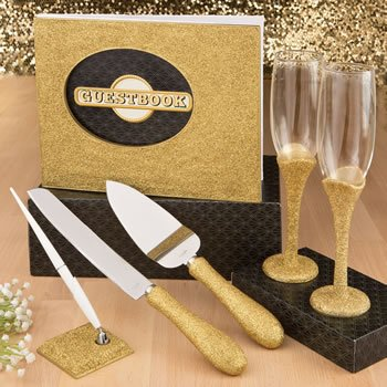 Golden elegance collection 4-piece gift set from Fashioncraf image