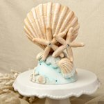 Life's a Beach Wedding Cake Topper