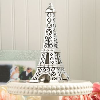 From Paris With Love Eiffel Tower Centerpiece Cake Topper image