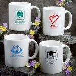 Personalized Sweet Celebrations White Coffee Mug Favors