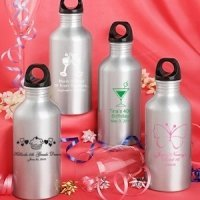 Personalized Birthday Themed Water Bottles