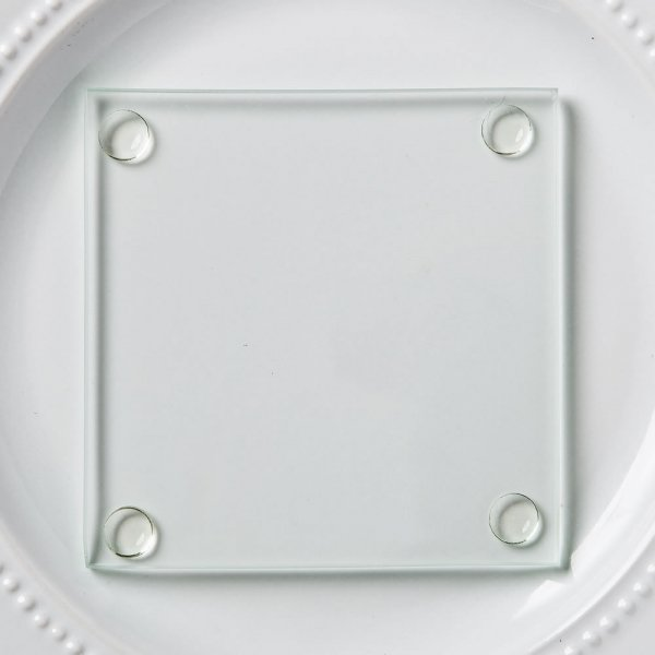 Perfectly Plain Collection Glass Coasters 025
