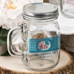 Mason Drinking Jar Personalized Party Favors