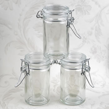 Perfectly Plain Collection Apothecary Jar Favor image
