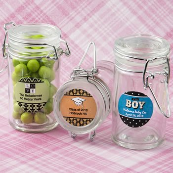 Personalized Expressions Collection Apothecary Jar Favors image