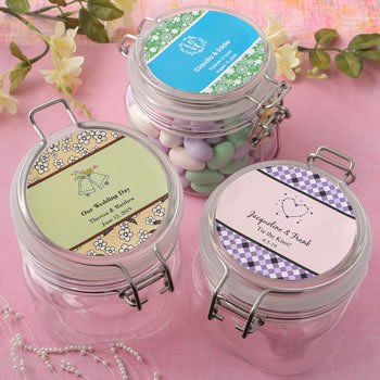 Personalized Expressions Large Acrylic Apothecary Jar Favor image