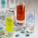 Personalized Shooter Shot Glasses Favors