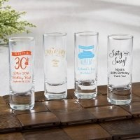 Personalized Birthday Fun 2 oz Shooter Glasses