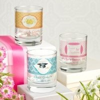 Personalized Shot Glass Party Favors or Votive Holders