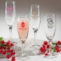 Sweet Celebrations Champagne Glass Favors