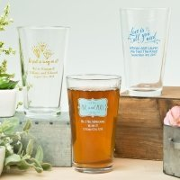 Expressions Collection 16oz Pint Glass Favors