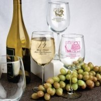 Personalized Special Occasion Wine Glasses