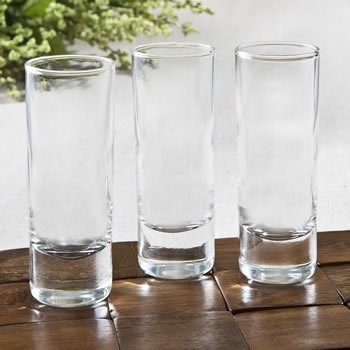 Perfectly Plain Shooter Glass Favor image