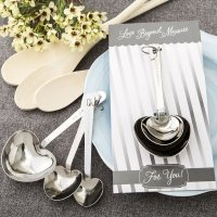Love Beyond Measure Heart Shaped Measuring Spoon Set
