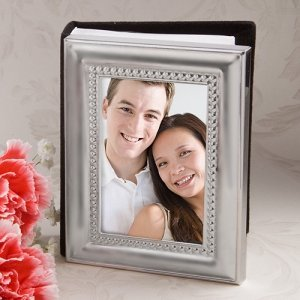 Silver Framed Mini Photo Album image