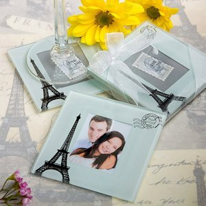 From Paris with Love Coaster Set Favors image