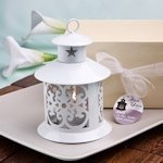 Fabulous White Lantern Favor