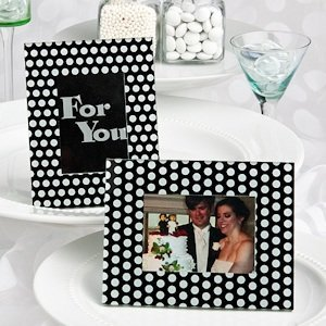 Polka Dot Photo Frame/Place Card Holders image