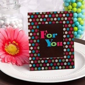 Polka Dot Picture Frame Party Favors image