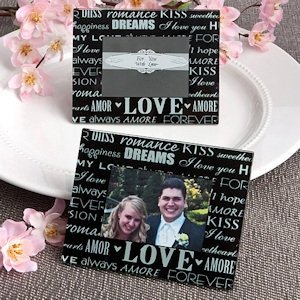 Words of Love Frame Favors image
