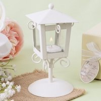 Love Lights the Way Vintage Candle Lamp Favors