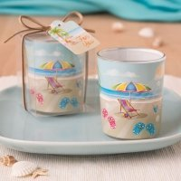 Beach Themed Votive Favor