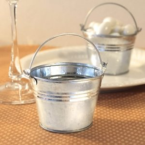 Miniature Galvanized Buckets image