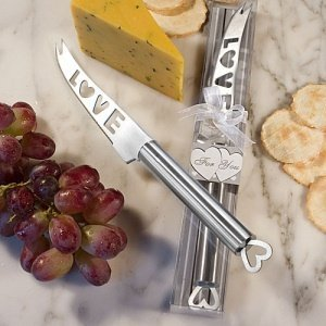 LOVE Cheese Knife with Hollow Heart Handle image