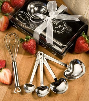 Measuring Spoon and Whisk Favor Sets image