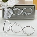 Infinity Design Silver Metal Bottle Opener Favors