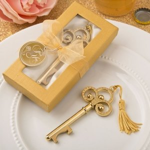 Gold Vintage Skeleton Key Bottle Opener image