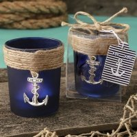 Anchor Design Glass Votive Favors