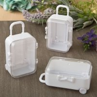 Travel Themed Mini Travel Suitcase Favor Boxes
