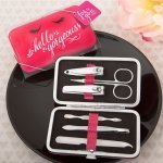 Hello Gorgeous Manicure Set in Hot Pink Case