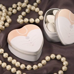 Fillable Bride Wedding Dress Tins image