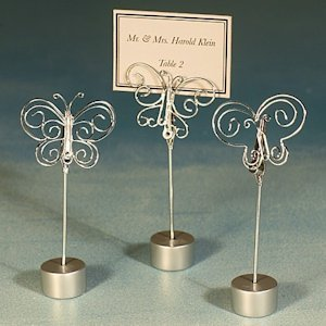 Butterfly Placecard Holders image