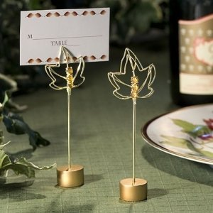 Autumn Leaf Place Card Holders image