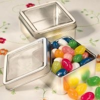 Clear Top Mint Tins