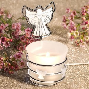 Guardian Angel Candle with Photo Holder image