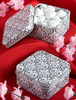 Damask Design Mint Tins image