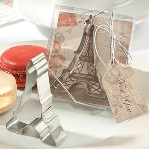 Romantic Eiffel Tower Cookie Cutters image