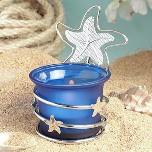 Starfish Beach Themed Candle Party Favors image