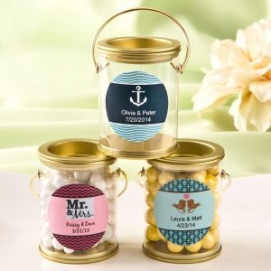 Customized Classic Mini Paint Can Favors image