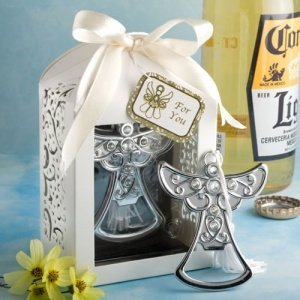 Angel Design Bottle Opener Favors image