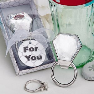 Bling Diamond Ring Bottle Openers image